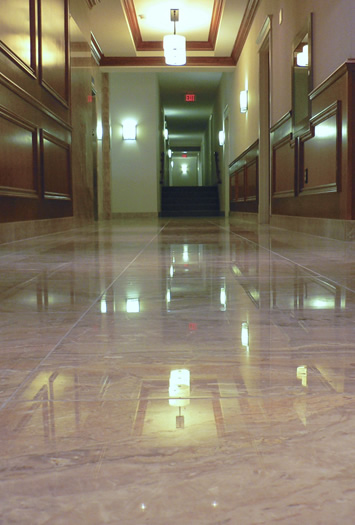 Marble Flloor by Marble Restoration Services