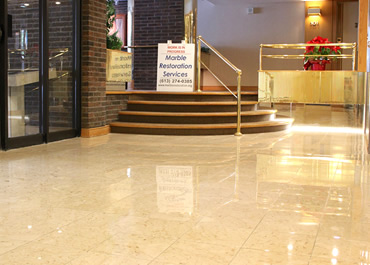 Annual Marble Floor Maintenance