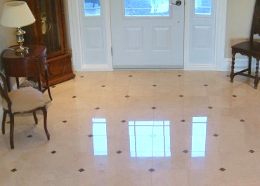 Marble Floor Restoration in Kanata Ontario